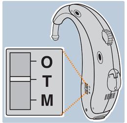 Hearing aid T-setting